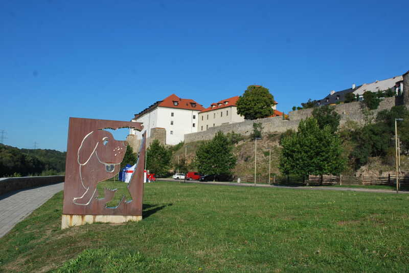 Kadňský hrad s NMaxipsem Fíkem