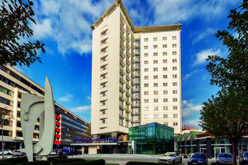 Pyšný hotel Continenetal Brno