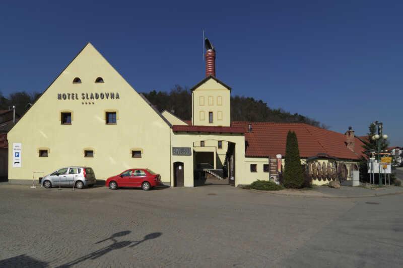 Hotel Sladovna v Černé Hoře u Brna