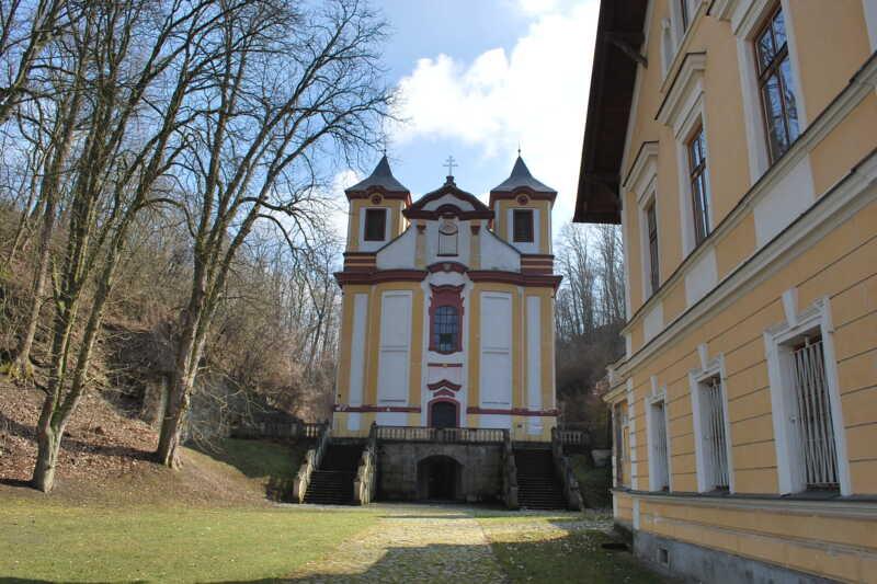 Kostel Vraclav - Východní Čechy