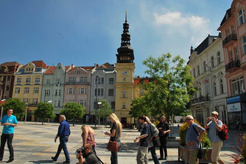 Masarykovo náměstí se Starou radnicíí