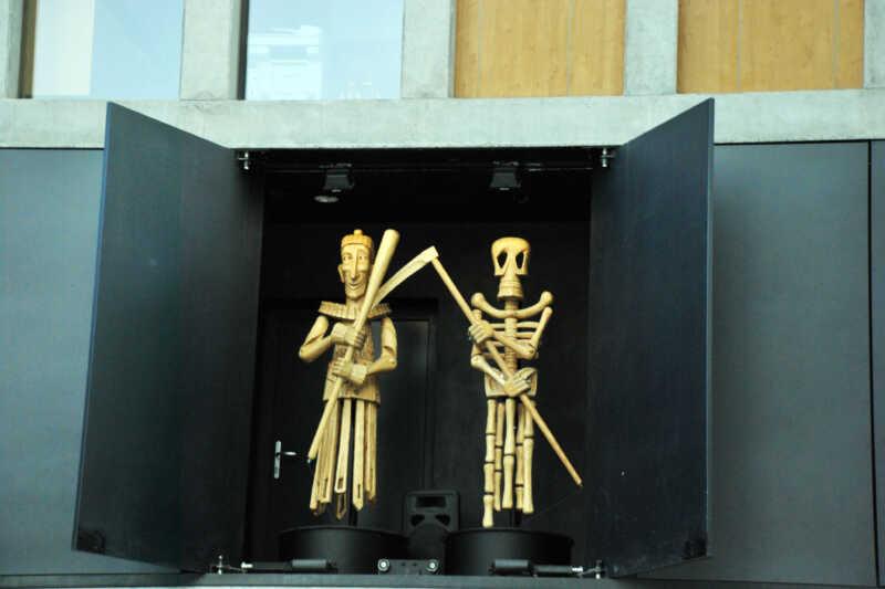Postavy z Orloje na Divadle loutek