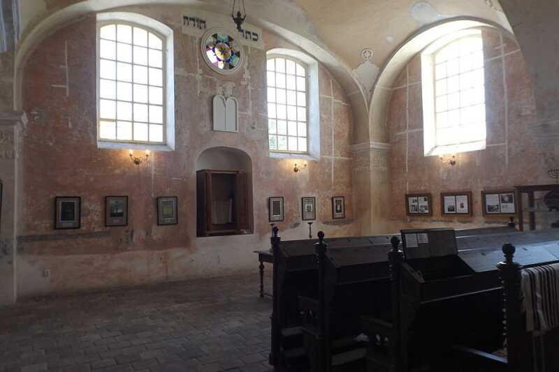 Synagoga Loštice - interier
