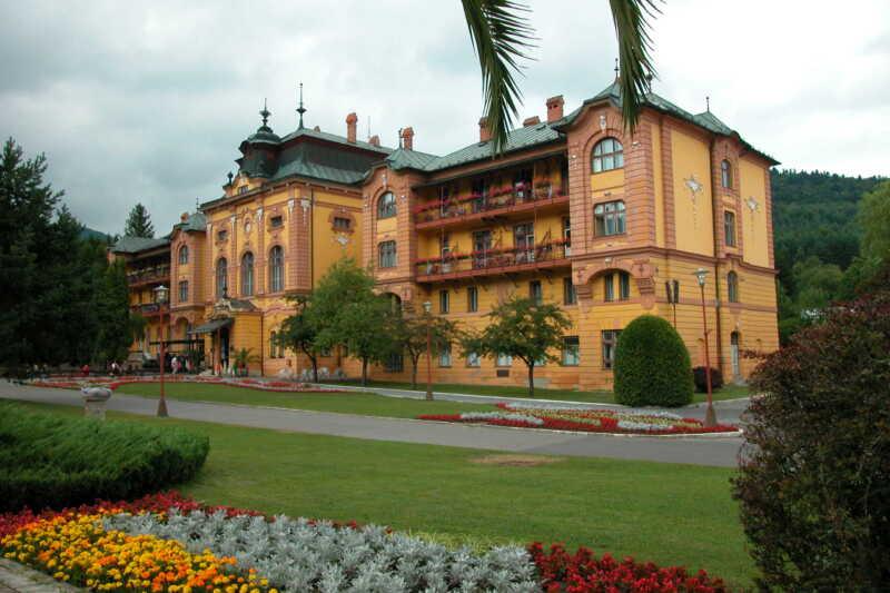 Hotel Astória srdce Bardějovských lázní