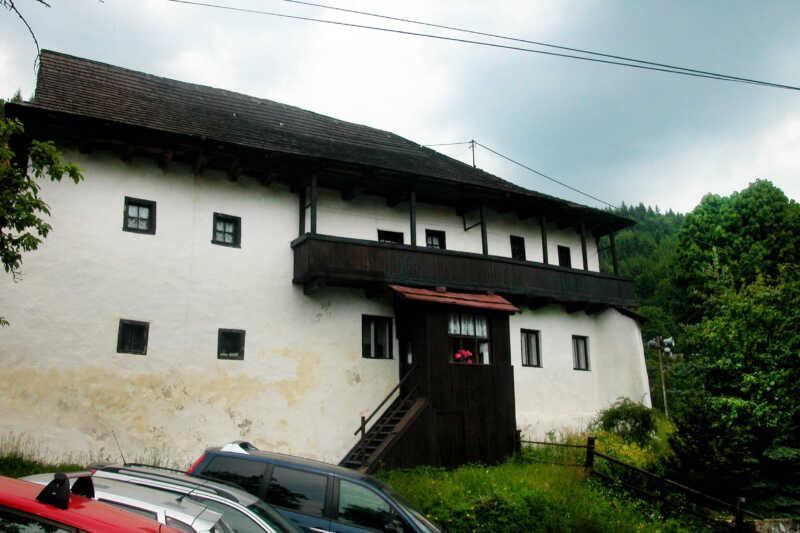 Typický dům ve Španej Doline