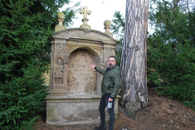 Místostarosta Klášterce nad Ohří David Kodytek nám byl skvělým průvodcem a inspirátorem