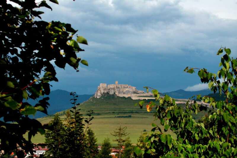 Nepřekonatelný pohled na Spišský hrad