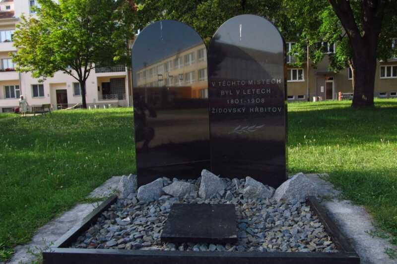 Památník starého židovského hřbitova v Prostějově