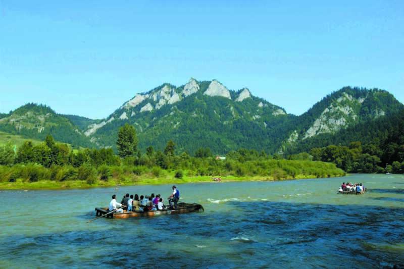 Pltě na Dunajci - zdravíme Jožo a Ladi
