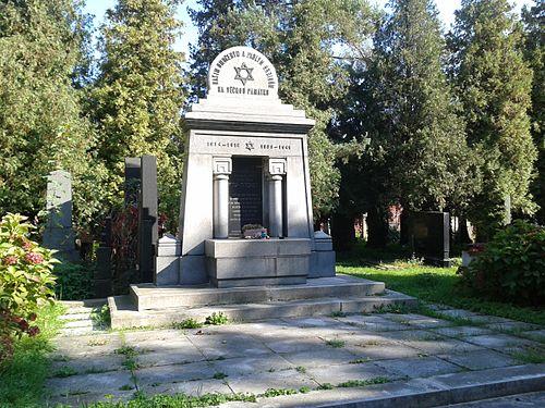 Památník na židovském hřbitově v Prostějově